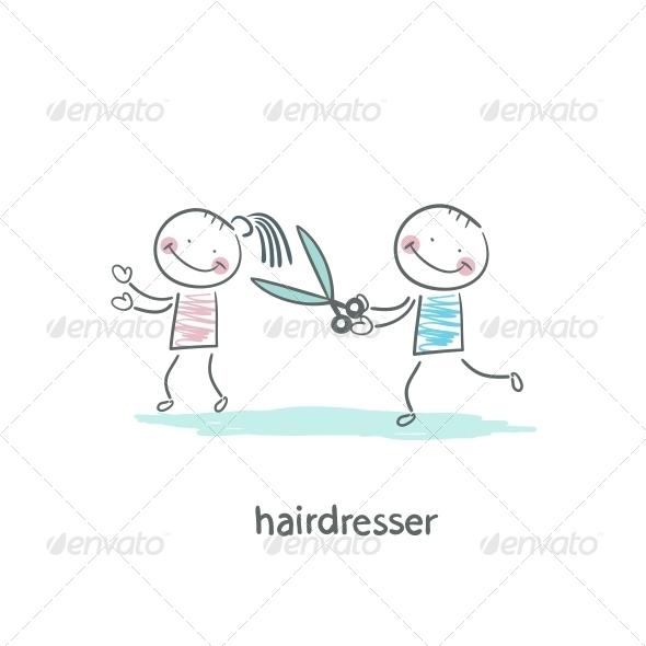 GraphicRiver Barber 5619085
