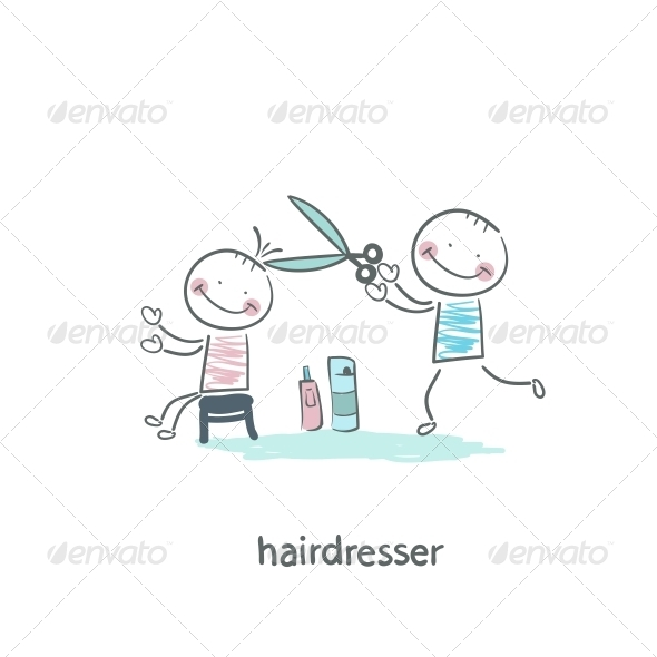 GraphicRiver Barber 5619086