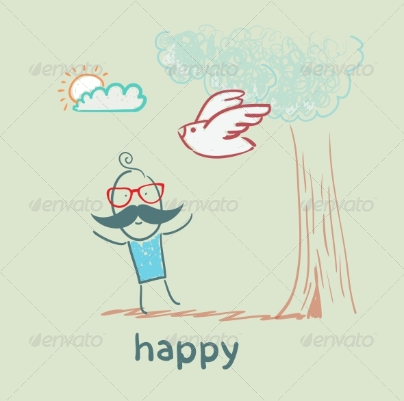 GraphicRiver Happy 5619106