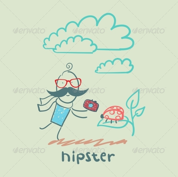 GraphicRiver Hipster 5619143