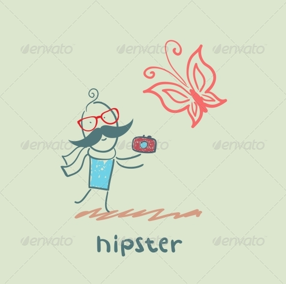 GraphicRiver Hipster 5619144