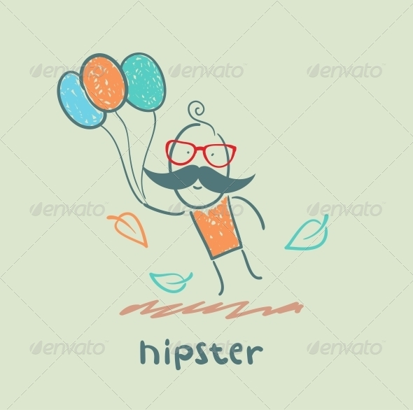 GraphicRiver Hipster 5619146