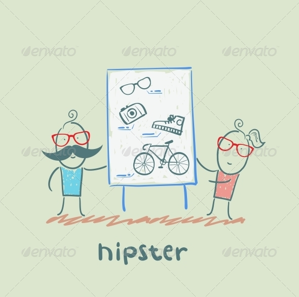GraphicRiver Hipster 5619164