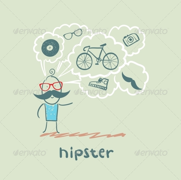 GraphicRiver Hipster 5619167