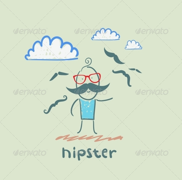 GraphicRiver Hipster 5619169