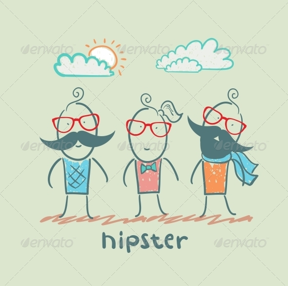 GraphicRiver Hipsters 5619171