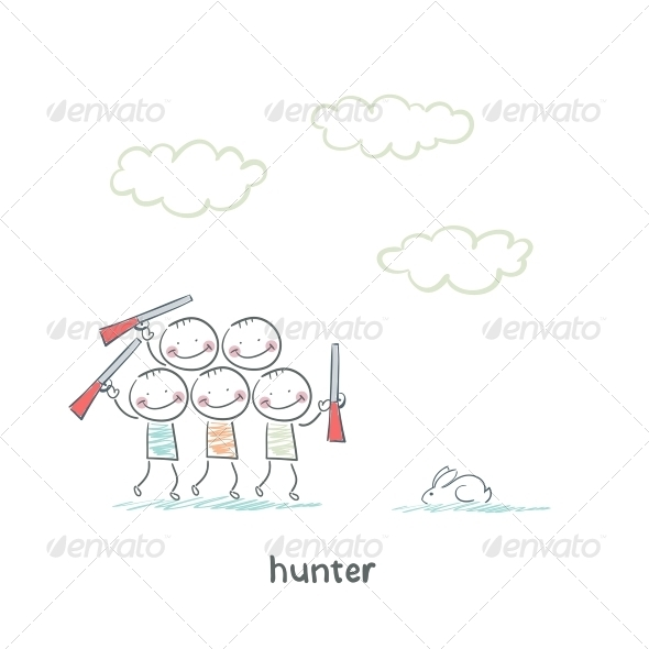 GraphicRiver Hunters 5619241