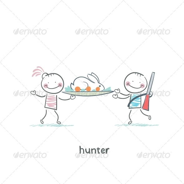 GraphicRiver Hunter 5619244
