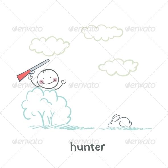 GraphicRiver Hunter 5619246