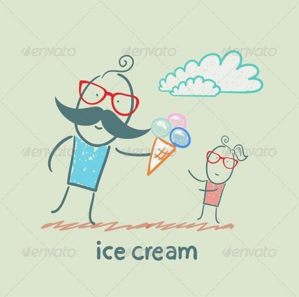 GraphicRiver Ice Cream 5619247