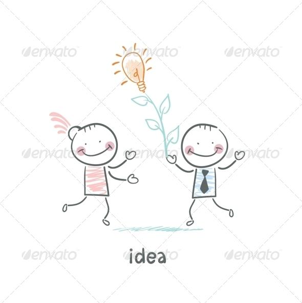 Man and Idea