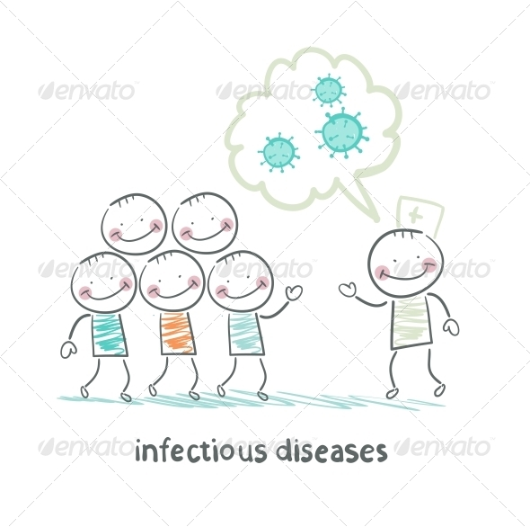 GraphicRiver Talk About Infectious Diseases 5619530