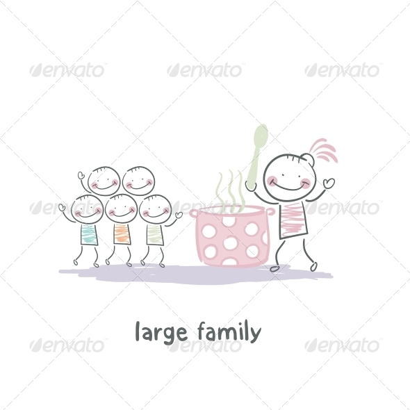 GraphicRiver Family 5619575