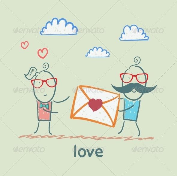 GraphicRiver Love 5619641
