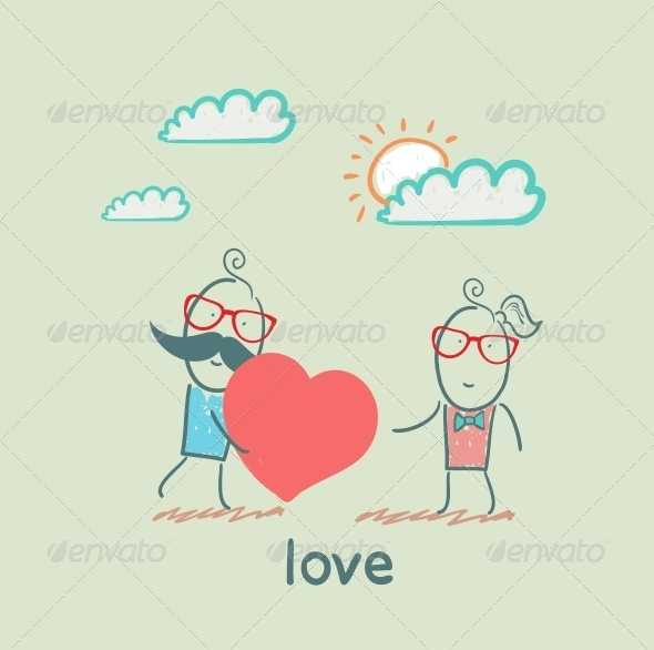 GraphicRiver Love 5619804