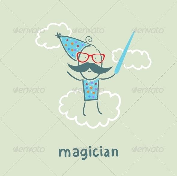 GraphicRiver Magician 5619824