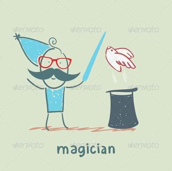 GraphicRiver Magician 5619826