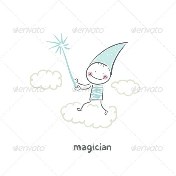 GraphicRiver Magician 5619829