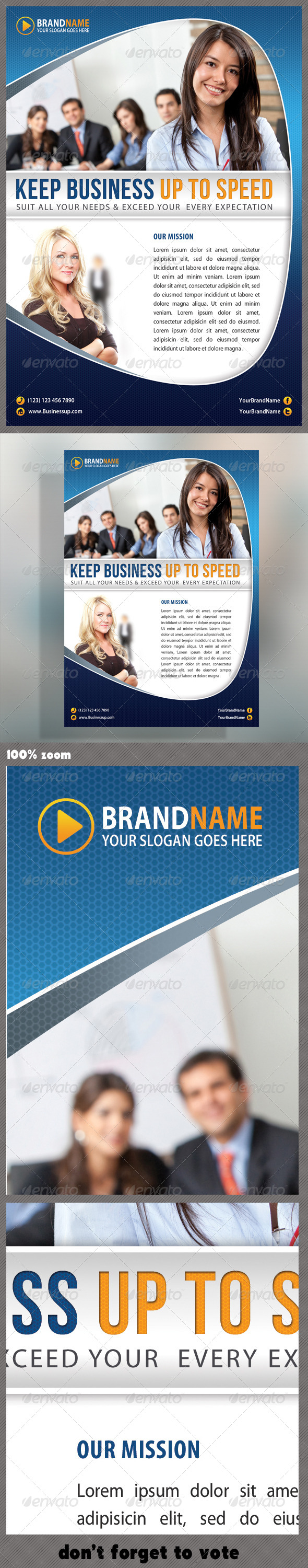 GraphicRiver Corporate Product Flyer 24 5620248