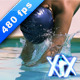 Jumping Into Water - VideoHive Item for Sale