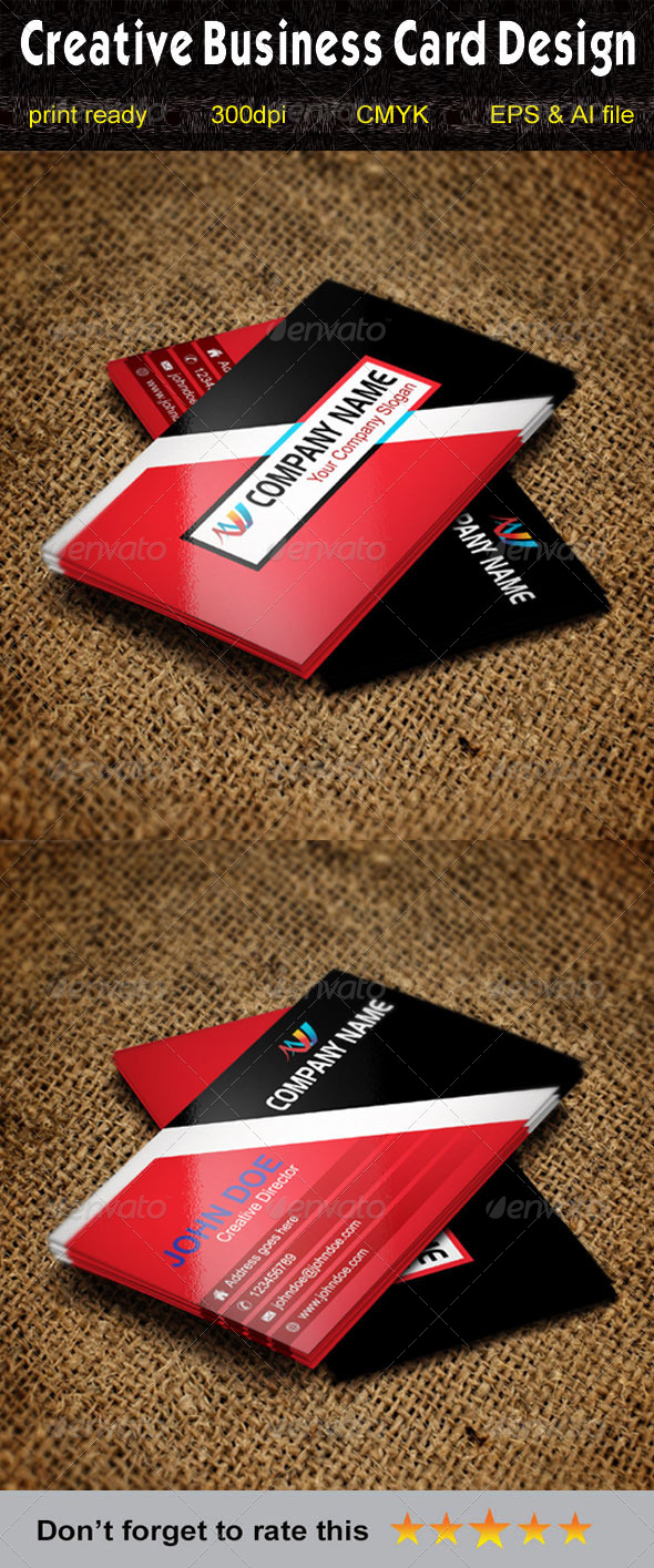 GraphicRiver Creative Business Card-2 5620932