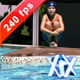 Boy Splashing In Pool - VideoHive Item for Sale
