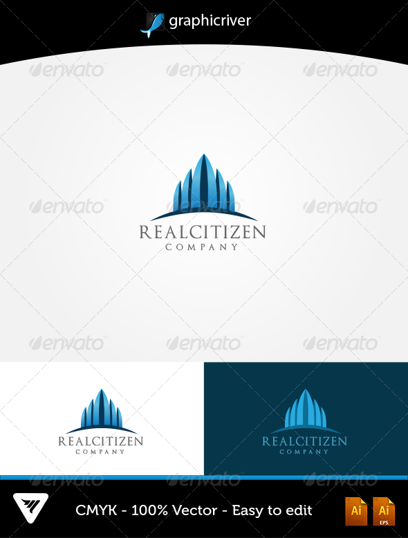 GraphicRiver RealCitizen Logo 5621392