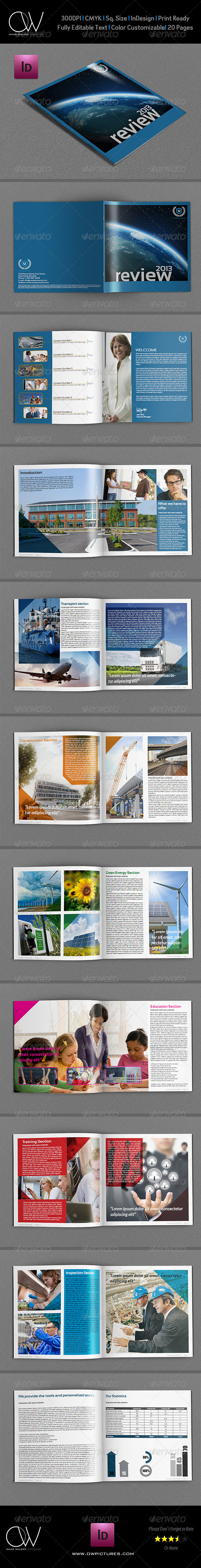 GraphicRiver Company Brochure Template Vol.7 20 Pages 5567531