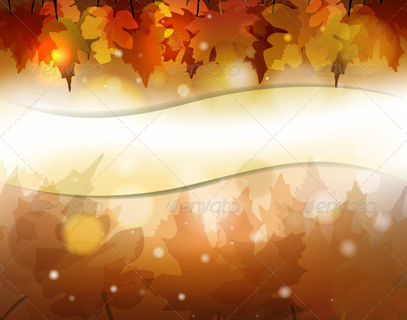 GraphicRiver Autumn Banner 5599983