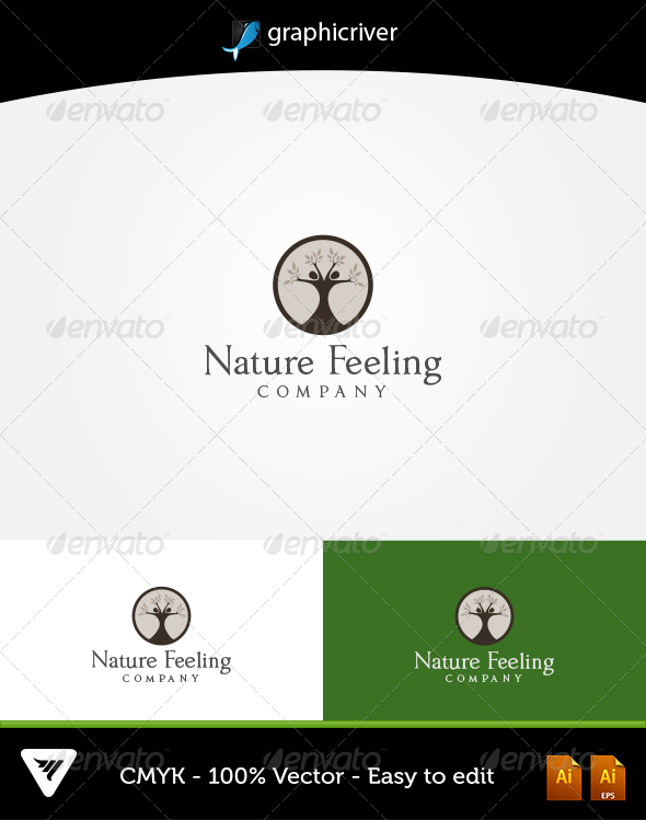 GraphicRiver Nature Feeling Logo 5622166