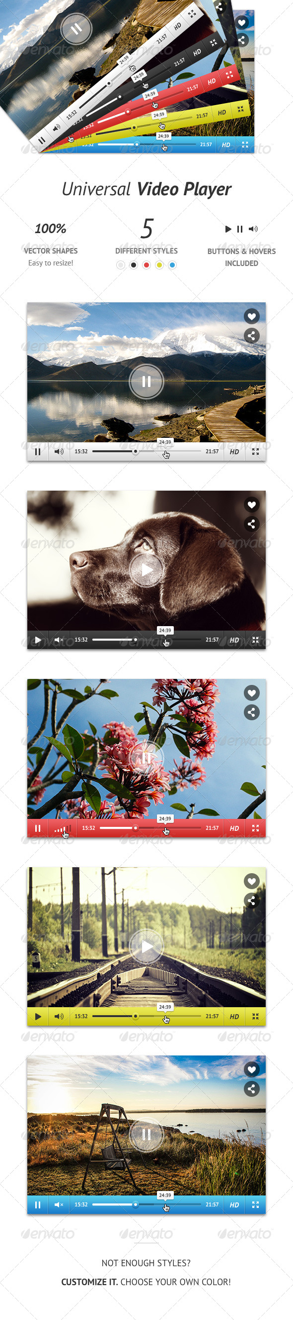 GraphicRiver Universal Video Player 5620445