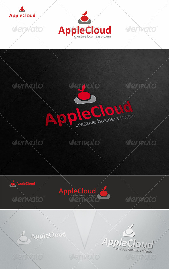 GraphicRiver Apple Cloud Storage Logo 5622939