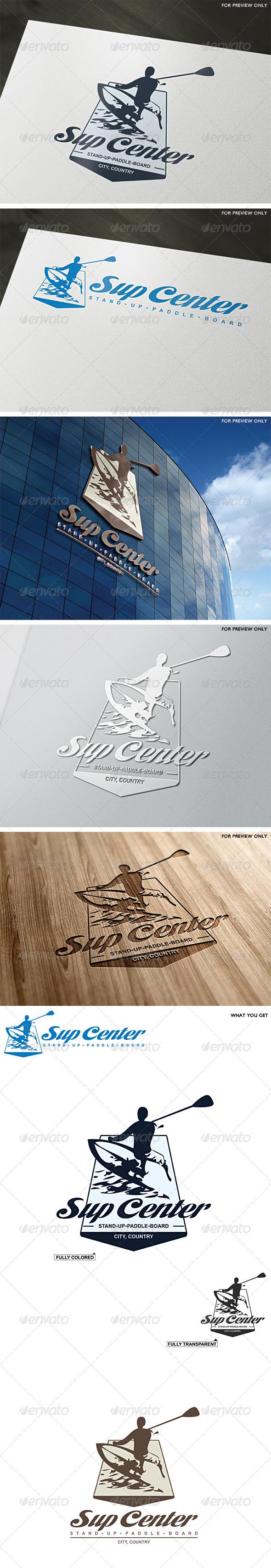 GraphicRiver Sup Center Logo Template 5598474
