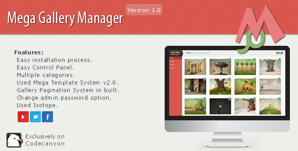 CodeCanyon Mega Gallery Manager 5623963