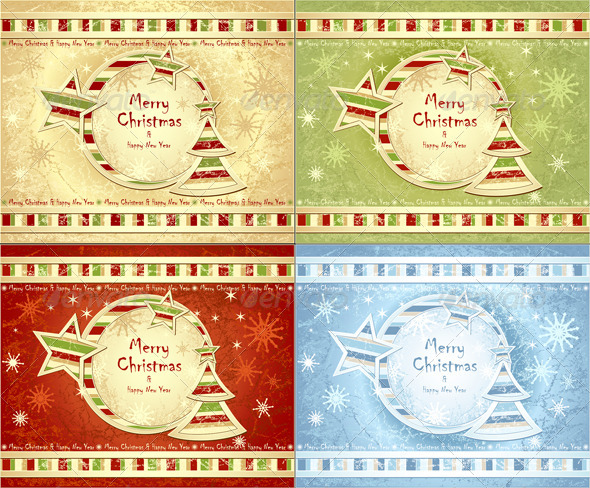 GraphicRiver Merry Christmas Background 5625208