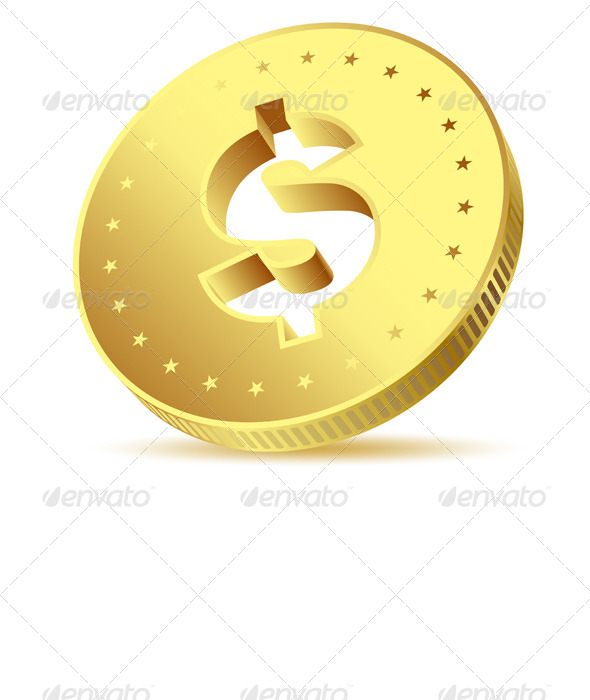 GraphicRiver Golden Dollar 5610969