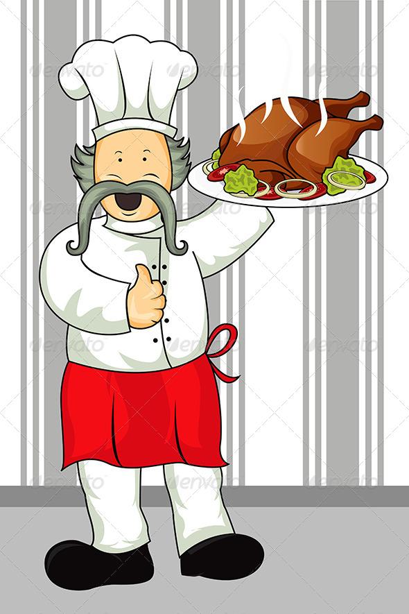 GraphicRiver Restaurant Chef 5625784