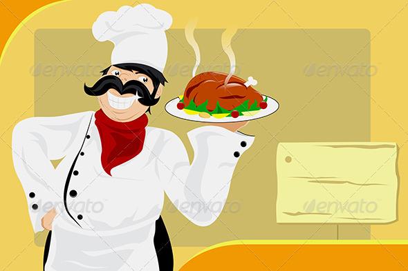 GraphicRiver Restaurant Chef 5625841