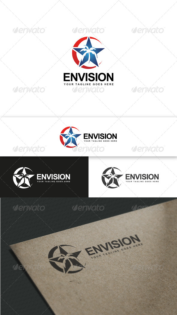 GraphicRiver Star Vision Palm 5603812