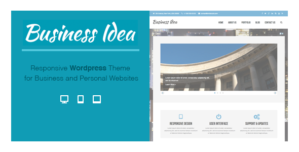 ThemeForest Business Idea Multi-Purpose Responsive Theme 5626114