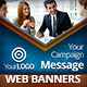 Business Marketing Campaign Web Banners - GraphicRiver Item for Sale