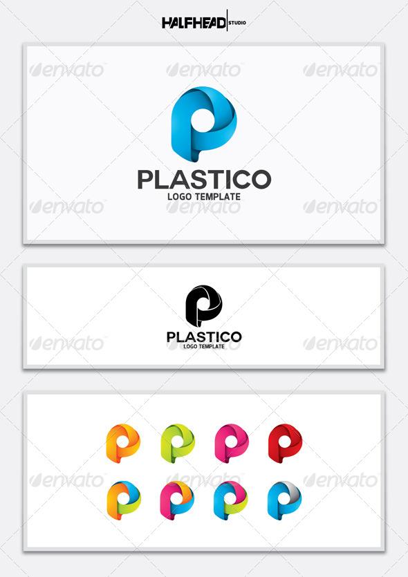 GraphicRiver PLASTICO Logo Template 5627011