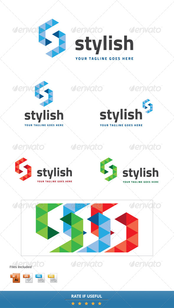 GraphicRiver Stylish Brand Logo Template 5627163