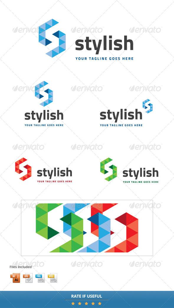 Stylish Brand Logo Template