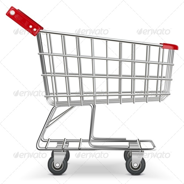 GraphicRiver Vector Supermarket Cart 5628559