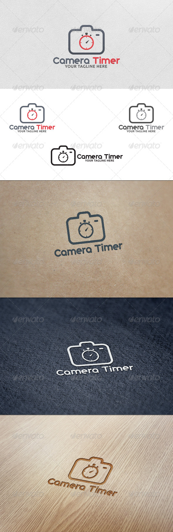 GraphicRiver Camera Timer Logo Template 5628567
