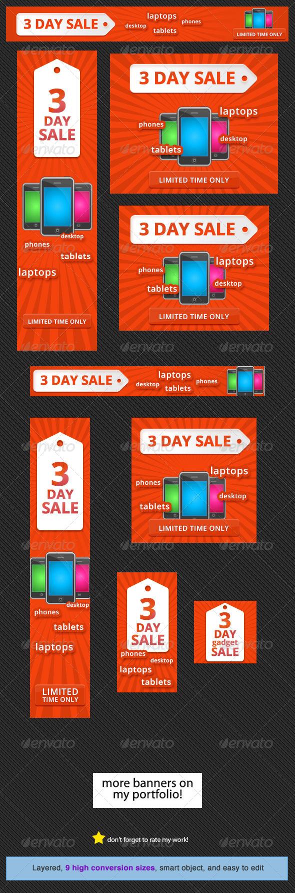 GraphicRiver Big Sale Banner Design Template 5617867