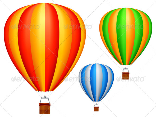 GraphicRiver Hot Air Balloons 5628790