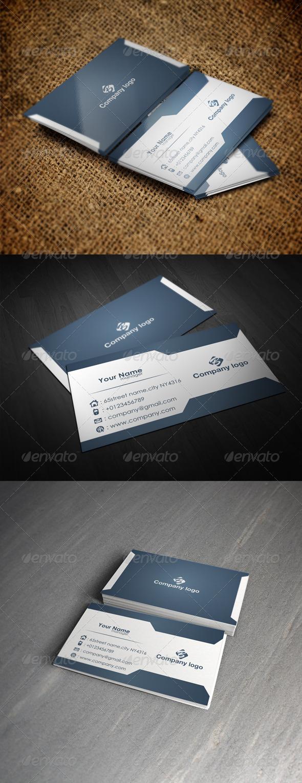 GraphicRiver Creative Card 5628983