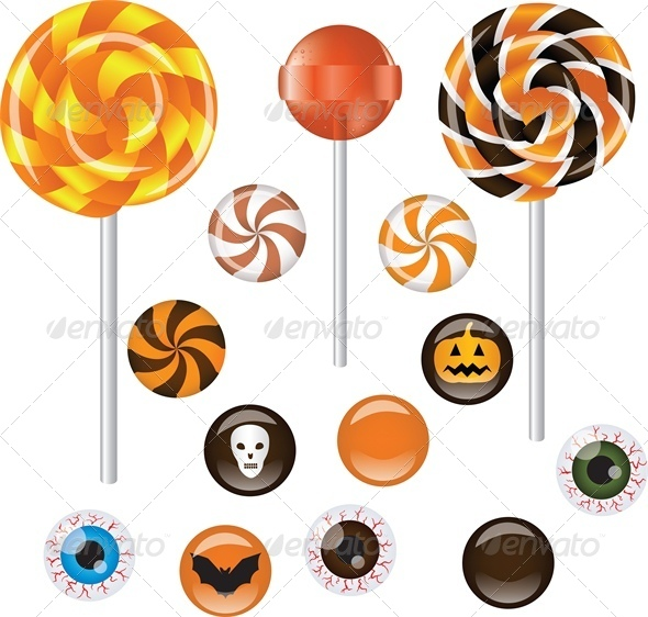 GraphicRiver Halloween Sweets 5629216